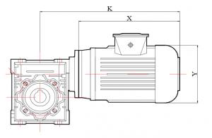 جزئیات گیربکس حلزونی
